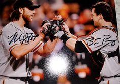 Buster Posey & Madison Bumgarner San Francisco Giants Autographed 8x10 Photo