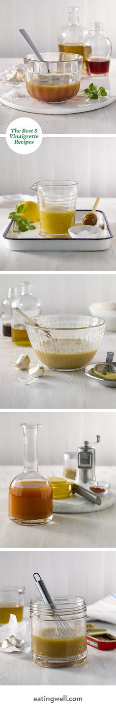 Forget boring salads with these amazing, healthy salad dressing and vinaigrette recipes.