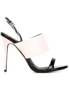 GIUSEPPE ZANOTTI Sling Back Sandals. #giuseppezanotti #shoes #sandals