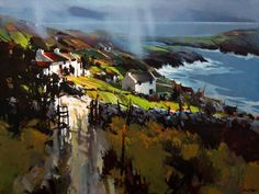 Michael O'Toole, artist, original acrylic paintings at White Rock Gallery
