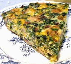 Click share to save to prepare this later MUSHROOM & SPINACH QUICHE 1 tablespoon butter 8 ounces fresh mushrooms, sliced 4 ounces red onion, chopped fine, 1 medium 10 ounces frozen. Mushroom And Spinach Quiche, Mushroom And Onions, Spinach Stuffed Mushrooms, Spinach Bake, Frozen Spinach, Low Carb Menus, Low Carb Recipes, Vegetarian Recipes, Cooking Recipes