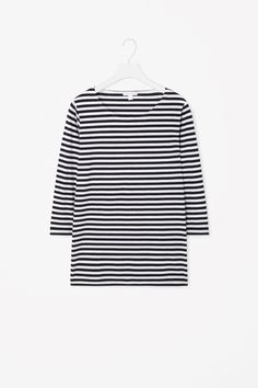 COS | Striped cotton t-shirt