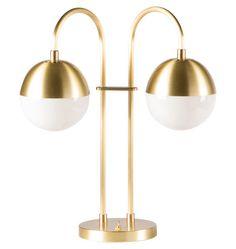 "Cedar & Moss Double Table Lamp -   | Rejuvenation. $349  Width 19"" Height 20-5/8"" Depth 8-1/4"" Base 7"" diameter"