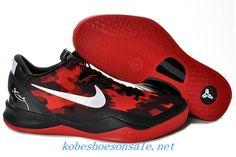 Nike Zoom Kobe VIII Elite Red Black White 555035 102