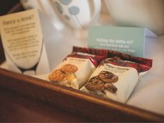 Treats for you to enjoy in every room at The Cottons Hotel & Spa