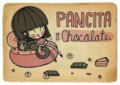 Pancita de chocolate♡