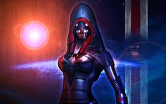 Mass Effect 3 N7 Fury Wallpaper (2012) by RedLineR91.deviantart.com