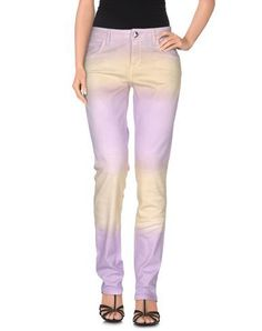 BLUMARINE Denim trousers. #blumarine #cloth #dress #top #skirt #pant #coat #jacket #jecket #beachwear #