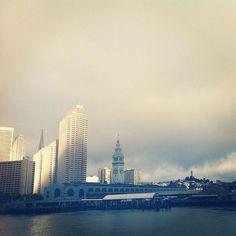 SF ferry terminal by Samantha Hahn on via Maquette blog
