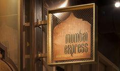 MUMBAI EXPRESS Indian Restaurant by StudioMKZ, Sidney – Australia » Retail Design Blog