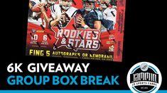 6K Subscriber Group Hobby Box Break GIVEAWAY