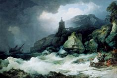 Philip James de Loutherbourg - The Shipwreck (1793)