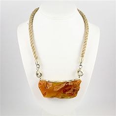 """Baltic Depths"" Amber Necklace $775.00 