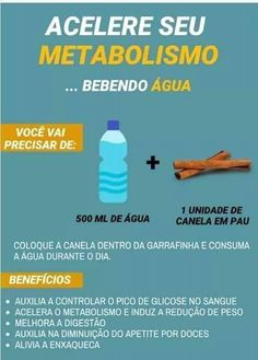 Veja como acelerar o metabolismo com dicas simples para emagrecer. Salve este pin e assista o vídeo. Diet And Nutrition, Health Diet, Health Fitness, Dietas Detox, Detox Plan, Bebidas Detox, Fitness Armband, Yoga For Weight Loss, Weight Loss Smoothies