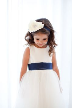 Super cute for flower girl but pink or yellow instead for the ribbon and flower color!! :)