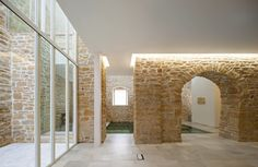 Rehabilitation Ancient Royal Butcher XVI Century In Porcuna - Picture gallery