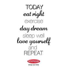 Happy Sunday! #Hypoxi #HealthySkin