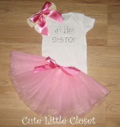 Normally, I dislike sequins but this cute. Baby girl coming home outfit Baby girl take by CUTELITTLECLOSET, $33.50