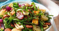 Chorizo, Haloumi and Potato Salad