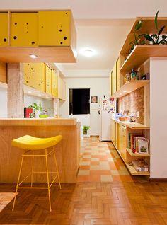 Fotos de cozinhas ecléticas: apartamento apinagÉs | homify