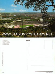 € 0,70 - code : ITA-039 - Roma - Olimpico - stadium postcard cartolina stadio carte stade estadio tarjeta postal
