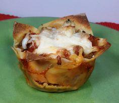 Lasagna Cupcakes - emilybites