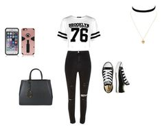 """""""first day of school look"""" by jaschapp ❤ liked on Polyvore featuring art"""