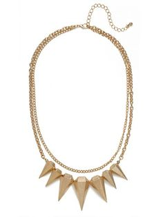 Gold Kryptonite Necklace | BaubleBar