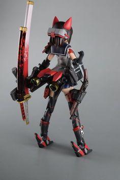 Gundam Toys, Frame Arms Girl, Cool Robots, Robot Girl, Anime Figurines, Drawing Clothes, Manga, Character Design Inspiration, Plastic Models