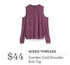 Is cold shoulder still in? I like it but I don't have anything like it. As long as it is long enough I'd love to try something like this.