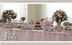 decoração provençal mesa de doceswww.festafeitacomamor.com.br  Paper goodies Papelaria para Festa da Tinkerbell (sininho) | Festa Feita! Papelaria personalizada para festas! Com Amor para você!
