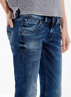 Bershka m xico jeans bsk cremallera bolsillo trasero - Pepe jeans colombia ...