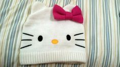 Hello Kitty beanie hat!