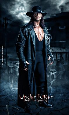 The Undertaker was born on March 1965 and he is an American professional wrestler. The Undertaker made his debut in The Undertaker is the biggest legend ever to compete in a WWE ring. Die hard wrestling fans are really mad to have Undertaker pho The Undertaker, Wrestling Stars, Wrestling Wwe, Watch Wrestling, Shawn Michaels, Divas, Wwe Pictures, Best Wrestlers, Catch