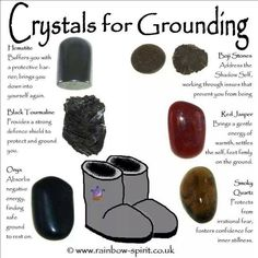 Enter the metaphysical world of crystals and gemstones, and learn how you can benefit from crystal healing, and use them in your daily life. Grounding Crystals, Meditation Crystals, Crystal Healing Stones, Crystal Magic, Chakra Crystals, Chakra Stones, Gems And Minerals, Crystals Minerals, Crystals And Gemstones