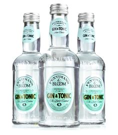 Fentiman's & Bloom Gin & Tonic    First of all, Fentiman's makes my favorite soda for mixing, Dandelion & Burdock. Now this gorgeous piece of gorgeousness?! Must have!