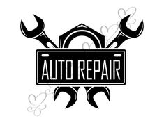 Charming car repair tutorials try this out Car Repair Service, Auto Service, Maintenance Logo, Tyre Shop, Silhouette Cameo Tutorials, Teacher Worksheets, Repair Shop, Air Compressor, Vinyl Designs