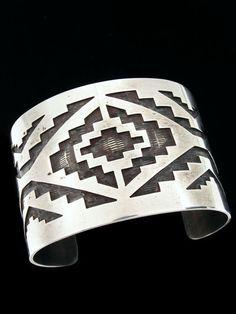 native american pattern bracelet