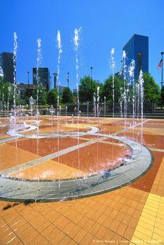 Atlanta, Centennial Olympic Park fountain