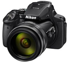 The Nikon COOLPIX is a compact digital camera that features an Optical Zoom lens, low-light 16 MP CMOS sensor, built-in Wi-Fi, Full HD video shooting, special effects and more.