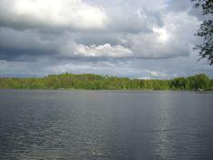 Järvi Lopella.