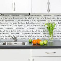 ...for my kitchen.....  French Menu Lettering Stencil   Royal Design Studio