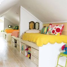 10 Fulfilled Clever Tips: Large Attic Space walk up attic renovation.Walk Up Attic Renovation. Bunk Rooms, Attic Bedrooms, Girls Bedroom, Bedroom Decor, Bedroom Ideas, Childrens Bedroom, Upstairs Bedroom, Attic Bedroom Kids, Attic Playroom