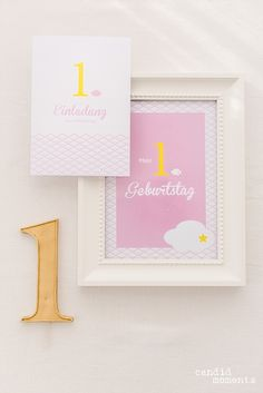 1. Geburtstag | Silvia Hihntermayer | candid moments fotografie  #ersterGeburtstag #Kindergeburtstag #birthday #firstbirthday #zuckerlrosa #zitronengelb #Wolke7 #Wölkchen #Wolken #yellow #rose #blush Candid, In This Moment, Frame, Pink, 1 Year Birthday, Lemon Yellow, New Babies, Invitations, Mariage