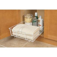 Stainless Tilt Out Tray American Woodmark Thru Home Depot