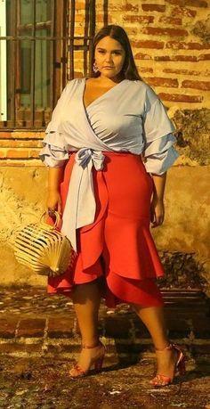 Plus Size Fashion for Women #plussize#womensfashion