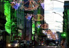 Decoração de Natal em Salvador.