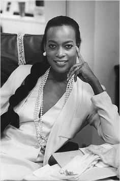 Ms. Sims's appearance on the cover of Ladies' Home Journal in November 1968 was a consummate moment of the Black is Beautiful movement.