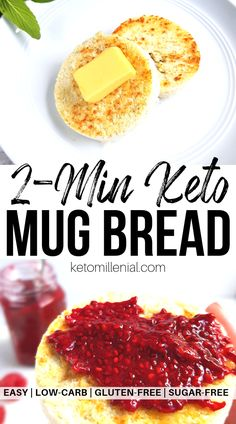 Best ever quick keto bread in a mug that all ketogenic dieters need to try! This coconut flour mug bread is the best keto microwave bread and ready in just one minute. Try this 90 second keto mug bread today! Easy Keto Bread Recipe, Keto Mug Bread, Keto Banana Bread, No Bread Diet, Best Keto Bread, Lowest Carb Bread Recipe, Keto Pancakes, Keto Biscuits, Recipe Breadmaker