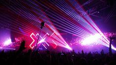 Lasers in the dark! Sponsored by: nokia Nokia Camera, The Darkest, Album, Concert, Concerts, Card Book